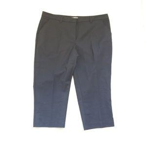 Maurices black crop pants